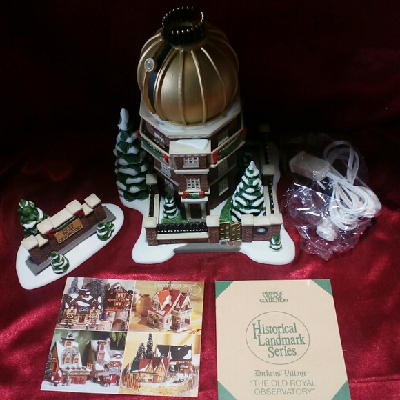 Dept 56 Dickens' THE OLD ROYAL OBSERVATORY